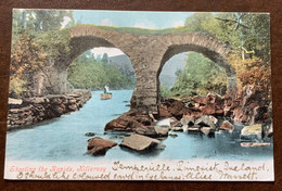 IRLANDA  - KILLARNEY - SHOOTING THE RAPIDS  - POST CARD FROM LIMERICK FE 1 04 TO FLORENCE ITALY - Monde