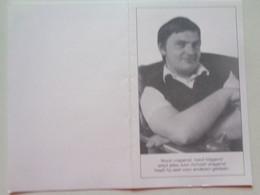 Doodsprentje/Bidprentje  Gino WULLEMAN  Diksmuide 1953-1993 Poperinge Ongeval  (Echtg Francine SERGIER) - Religion & Esotérisme