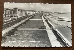 INGHILTERRA - HOVE LAWNS AND ESPLANADE - POST CARD FROM SUSSEX  TO PISTOIA - ITALY - Monde