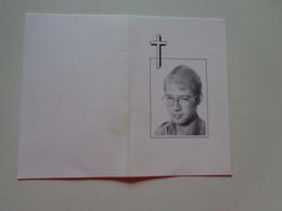 Doodsprentje/Bidprentje  JOHAN CARETTE  Diksmuide 1965-1989 Kaaskerke (Zn Walter & Denise LANNOO) - Religion & Esotérisme