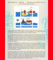 Nuovo - MNH - IRLANDA - Eire - Island - Foroyar - 1994 - Europa - Navigazione - - Blocchi & Foglietti