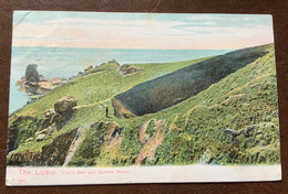 THR LIZZARD  - LION'S DEN AND  BUMBLE ROCKS -  POST CARD  TO LONDON  1904 - Monde