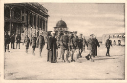 Jérusalem * The Duke Of Connaught Visit To The Mosque Of Omar * Mosquée D'omar * Israël - Israel