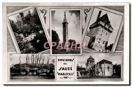 CPM Environs De Sauze Vaussais La Fontaine D&#39Adam Lanterne Des Morts A Pers Donjon De Jouhe Pierr - Non Classés