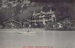 ISELTWALD (BE) Hotel Und Pension Du Lac - Ed. Photoglob 3610 - BE Berne