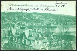 Deutschland / Germany: Dresden - Loscwitz, Blasewitz Mit Schillergarten 1900 - Dresden