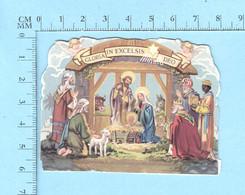Image Pieuse Religieuse, Decoupis, ( Gloria In Excelsis Deo ) - Religion & Esotérisme