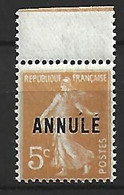 Timbre De France  Cours D ' Instruction Neuf ** N 158 C11 - Corsi Di Istruzione