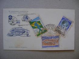 "BRASIL / BRAZIL - CARD ""IV WORLD CHAMPIONSHIP OF SOCCER / FOOTBALL"" IN 1950 IN THE STATE - 1950 – Brésil"