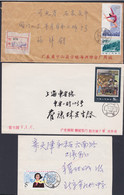 CHINA 1983/4,  3 Covers, Domestic Mailing - Eilpost