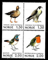 NORWAY 1981/2 BIRDS MNH - Usati
