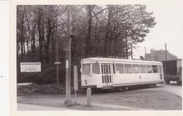 Dilbeek Le Tram A Quitte La Chaussée De Ninove Vers Itterbeek - Tranvía