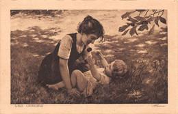 Les Cerises, Alsina - Mère, Enfant, Jeu - Gala Peter, Chokohler, Nestlé Publicité Chocolats Au Lait Et Fondant - Werbepostkarten