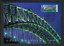 "AUSTRALIE 2000: CP Ill. ""Sydney, NSW"", CAD PJ - Sobre Primer Día (FDC)"