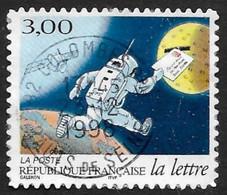 FRANCE  1998 - Y&T  3161 (adhésif)  -   La Lettre Au Fil Du Temps   - Oblitéré - Adhésifs (autocollants)