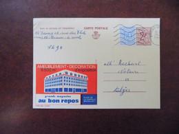 """EP Belgique Publibel 2328F """" Ameublement-décoration Au Bon Repos Bruxelles """" - Braine-le-Comte 1970 - Publibels"""