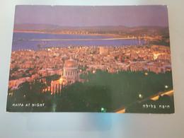 Haifa Bei Nacht (gelaufen, 1968), #H46 - Israel