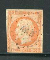 """Très Rare!!! Y&T N°16- Armée D'Orient- Bureau Mobile D """"AAD"""" - 1853-1860 Napoleone III"""