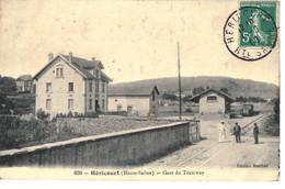 CPA   HERICOURT   La Gare Du Tramway   N° 838 - Andere Gemeenten