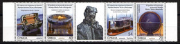 Serbia 2020 65 Years Since The Opening Of The Nikola Tesla Museum Sciences Energies Electricity Set MNH - Serbia