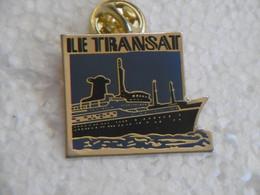"""Pin's - Bateaux Paquebot Transatlantique """"LE TRANSAT"""" - Pins Badge Bateau - Bateaux"""