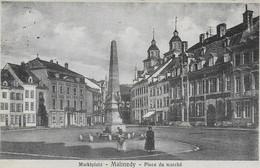 842-Marktplatz-MALMEDY -Place Du Marché - Malmedy