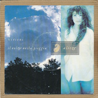 "7"" Single, Alice - Visioni - Disco, Pop"