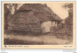 BERCHEM - SAINT - LAURENT..-- VL. Brt ..-- Chaumière . 1927 Vers FOREST ( Mme Ed. THIRY ) .Voir Verso . - Sint-Pieters-Leeuw
