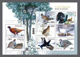 """2021 Ukraine. """"Birds Of Ukraine"""". Sheetlet MNH !  Pre-order. Release Aug 6. - Ohne Zuordnung"""