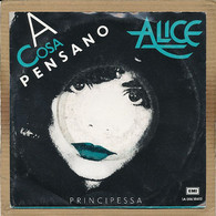 """7"""" Single, Alice - A Cosa Pensano - Disco, Pop"""