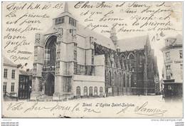 DIEST ..-- Brt Fl. ..--    Eglise St - Sulpice . 1903 Vers BERTRIX ( Mr J. JOSEPH , Gendarme ) . Voir Verso . - Diest