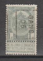 Préo Roulette 1906 Gand - Rolstempels 1900-09
