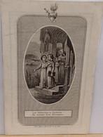 Jacobus Franciscus Van Der Ven-antwerpen 1854-geen Groot Prentje - Devotion Images