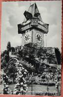 Graz, Uhrturm Basteigarten Gel.1964 - Graz