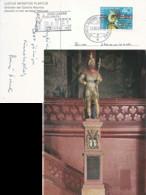 """Sonderkarte  """"Lucius Munatius Plancus - Gründer Colonia Raurica""""  (2000 Jahre Basel)           1957 - Covers & Documents"""