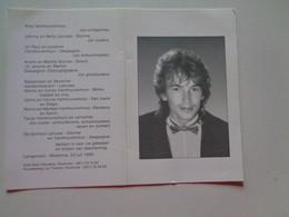 Doodsprentje/Bidprentje  Gerdy LATRUWE  Ieper 1970-1993 (Echtg Anja Vanthourenhout)Best.lid Belg.Tafelvoetbal Unie - Religion & Esotérisme