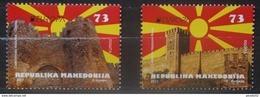 MACEDONIA 2017 EUROPA Castles  Skopje And Ohrid Set MNH - Macedonia