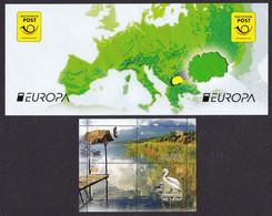Macedonia 2016 Europa CEPT Think GREEN Fauna Birds Heron, Booklet MNH - Macedonia