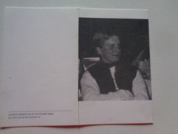 Doodsprentje/Bidprentje  Bart LAGACHE  Ieper 1980-1995  Verkeersongeval  (Zn Ivo & Christine PYCK) - Religion & Esotérisme