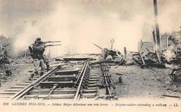 Guerre 1914 Voie Ferrée Thème Train 190LL - Non Classés