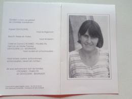 Doodsprentje/Bidprentje  Rita CROMBEZ  Roeselare 1956-1994  (Echtg Hubert DEVOLDERE) - Religion & Esotérisme