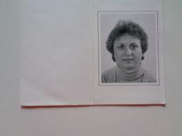 Doodsprentje/Bidprentje  MONIQUE CROMBEZ  Woumen 1950-1988 Roeselare (Echtg Marc HOLLEVOET) - Religion & Esotérisme