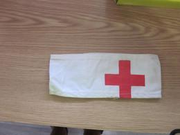 Red Cross Sleeve Tags - Headpieces, Headdresses