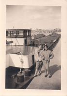 Foto Photo (7x9,5 Cm) Péniche Binnenvaartschip Angleur Liège Boot Bateau - Liege