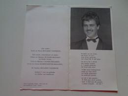 Doodsprentje/Bidprentje  Geert-Boudewijn BOGAERT  Roeselare 1967-1987 Wijtschate Ongeval (Zn André & Maria VANNESTE) - Religion & Esotérisme