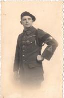 Militaire C.1930 - 13e BCA Bataillon De Chasseurs Alpins Carte Photo Studio Geneve  - Chasseur Alpin Médaille - Other
