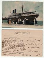"""Bateaux // Paquebots // Port De Tunis """" Le Carthage"""" - Paquebote"""
