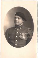 Militaire C.1930 - 13e BCA Bataillon De Chasseurs Alpins Carte Photo - Chasseur Alpin Médailles Médaille - Other