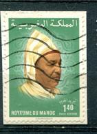 Maroc 1983 - Poste Aérienne  YT 119 (o) Sur Fragment - Maroc (1956-...)