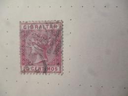 GIBRALTAR OLD FINE USED/POSTMARK AS PER SCAN - Gibilterra